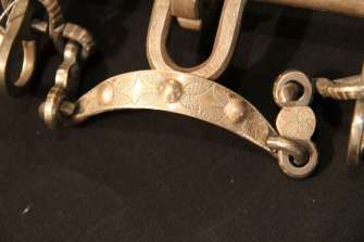 Frenos con detalle de plata puro