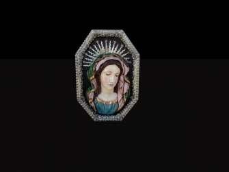 Medallones de Virgen
