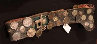 Antique gaucho belts (Rastras)