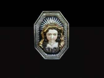 Virgin medallions