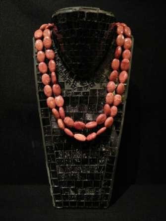 semiprecious stones necklaces