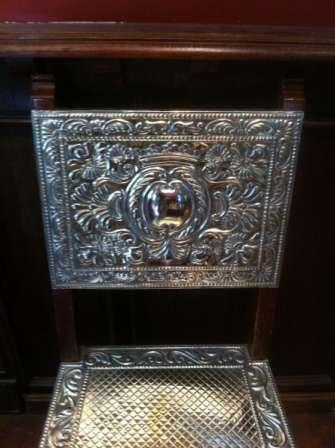 Nickel Silver chair